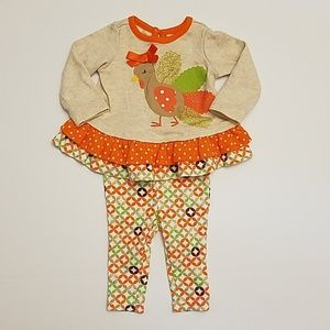 Baby Girl Thanksgiving Days outfit
